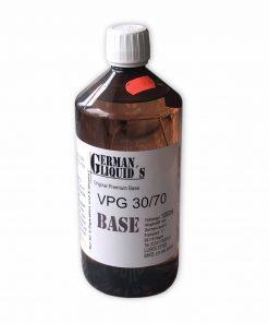 German Liquids Premium Base PG30 - VG70 1 Liter
