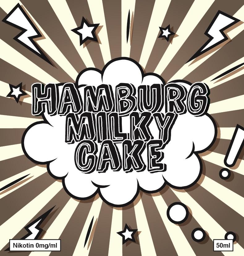 Hamburg Milky Cake