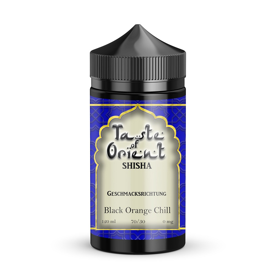 Black Orange Chill Taste of Orient