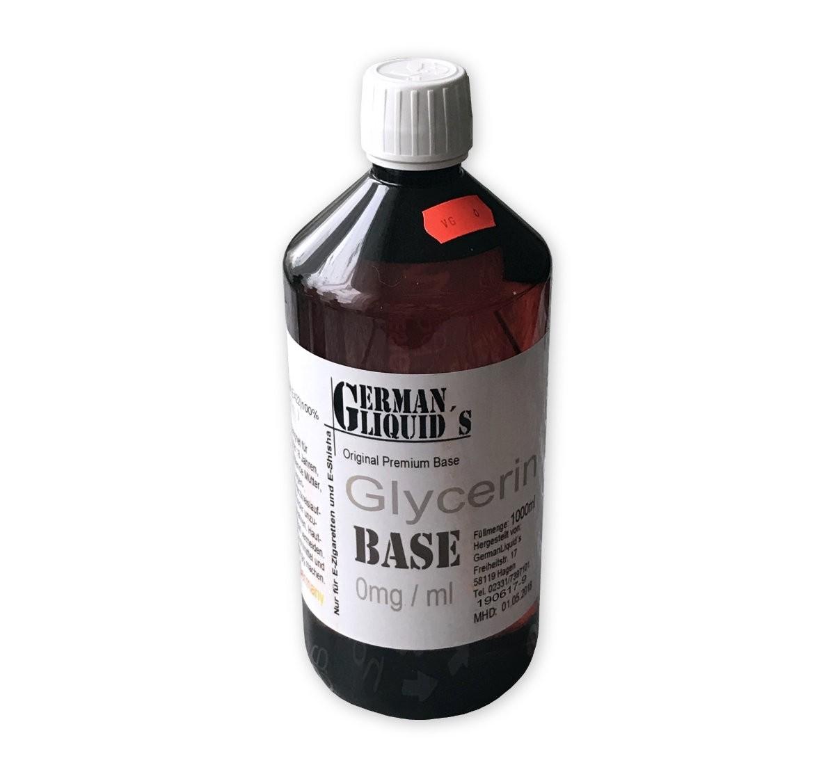 German Liquids Premium Base VG 100% 1 Liter