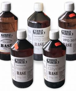Premium Liquid Base GermanLiquids in 1 Liter ohne Nikotin